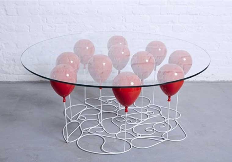 咖啡气球桌设计